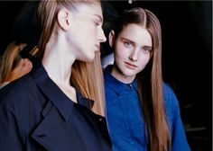 christophe lemaire _ss15 backstage runway pictures featured in i-D