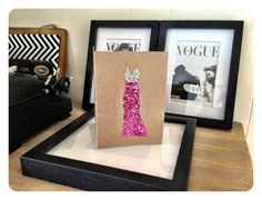 The Dress Card Collection  Happy Birthday & Congratulations Greeting Card