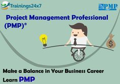 Trainings24x7 PMP Course Objectives:  1. Get started with project management fundamentals. 2. Identify organizational influences and project life cycle. 3. Work with project management processes. 4. Initiate a project. 5. Plan a project. 6. Plan for project time management. 7. Plan project budget, quality, and communications.