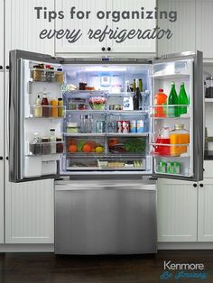 Check Out Our Tips For Organizing Your Kenmore Refrigerator.