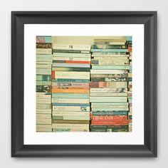 Bookworm Framed Art Print