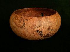 Gorgeous wood bowl.