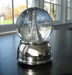i collect snow globes and this is just gorgeous. they're not just for christmas!