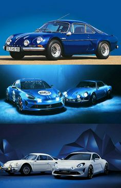 """Old meets new as Renault revives the Alpine sports-car brand that once beat Porsche.  The Alpine brand was best known for the A110 Berlinette coupe (pictured), which beat Porsche models in rally competitions in the 1970s.  Like earlier Alpines, the new car will employ a rear-wheel-drive architecture that keeps weight to a minimum, and will be powered by a new four-cylinder turbocharged engine.  Renault CEO Carlos Ghosn commented""""Alpine represents racing glory."""" #Alpine110 #Renault"""