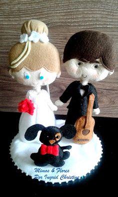 Mimos & Flores: Casando os amigos! ^^