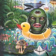 Splash will :p #wip#waterpark #lowbrowart #surrealism #surrealart #popsurrealism#art_empire#art_spotlight#artfido#creature#mushroom#artcollective#myart#fineart#thirdeyes#tattoos