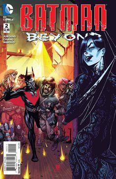 Batman Beyond (2015) Issue #2 4/14/2016 ®....#{T.R.L.}