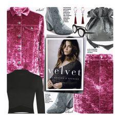 Crushing on Velvet by beebeely-look