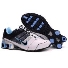 Nike Shox NZ 2 White Black Blue Men Shoes $79.59