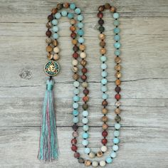 Cheap beaded necklaces for women, Buy Quality bead necklace directly from China necklaces for women Suppliers: EDOTHALIA Matte Natural Stone 108 Beads Necklaces For Women Female Payer Regious Nepal Pendant Long Mala Necklace Jewelry Boho Necklace, Fashion Necklace, Boho Jewelry, Beaded Jewelry, Jewelry Necklaces, Fashion Jewelry, Jewelry Design, Gold Bracelets, Gold Earrings