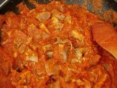 Fabulosa receta para Morro de cerdo en salsa. Allrecipes, Sweet Potato, Stuffed Mushrooms, Chicken, Vegetables, Ethnic Recipes, Food, Rica Rica, Salsa Salsa
