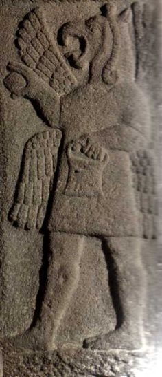 Late Hittite, bird man, Museum of Anatolian Civilisations, Ankara