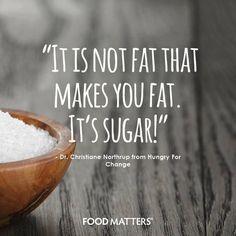Stop fearing fat!  www.foodmatters.com #foodmatters #fmquotes