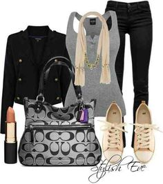 Love this for a Saturday with the girls out shopping or for lunch