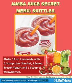 Jamba Juice - Jamba Juice Secret Menu: Skittles