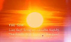 quotes and images of the sun - Google Search