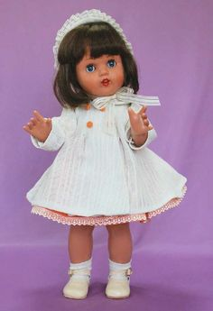 Mariquita Pérez ~  Spanish doll thought up by Mrs Leonor Coello de Portugal in 1938. It was the most famous doll of the 40s & 50s in Spain, although it was produced until 1976. It is regarded as the best doll ever made in Spain as well as one of the best of its time in Europe because of its craft production, the quality of the used materials & the wealth of wardrobe and accessories | Likewise, it had a great success of reception in other countries such as Portugal, Argentina, where it was…