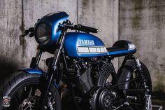 Yamaha XV950 Cafe Racer Marcus Walz #caferacer #motorcycles #motos   caferacerpasion.com