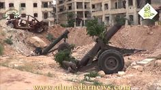 Watch how rebels shell residential areas in Government Held Aleppo