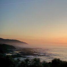The Great Ocean Road 6:11 am #nofilter #greatoceanroad #sunrise #sunriseoversea #ocean #reflection #rocks #water #mist #fog by nickysevior