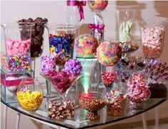 32 Trendy Ideas For Party Food Table Ideas Candy Bars Candy Table, Candy Buffet, Dessert Table, Lolly Buffet, Food Buffet, Neon Party, Candy Party, Party Food Table Ideas, Bar A Bonbon