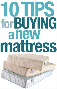 I've been doing a lot of mattress shopping recently. My husband and I are in desperate need of something new… our last one is 10 years old and a pillow top that is smushed and misshapen. To get to the middle of the bed feels like climbing Mt. Everest. Well in my search I decided to …