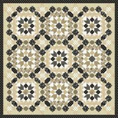 Windham Fabrics Eliza Williamsburg Moorish Mosaic Quilt Kit Fish Patterns, Tree Patterns, Flower Patterns, Pastel Pattern, Retro Pattern, Hancocks Of Paducah, Christmas Tree Pattern, Windham Fabrics, Quilt Kits