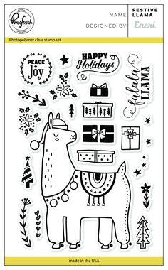 Festive llama