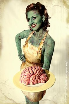 Brains, anyone?...okay, pretty cool