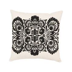 Great design on Pillow in Ode to Coco Chanel collection.