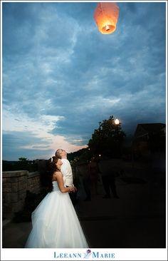 pittsburgh floating lantern (wish lanterns!) release at wedding