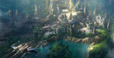 Due nuovi parchi tematici in apertura negli Stati Uniti: Pandora e Star Wars