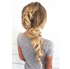 Side braid by  @hairbychrissy