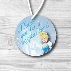 INSTANT DOWNLOAD Cinderella Birthday Party by 105DesignHouse