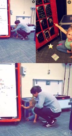 This is so cute. Louis and Lux :) x