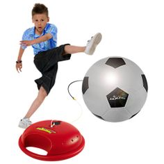 Soccer Reflex Trainer - Can be used indoors or out. Great for kids who can't get enough soccer - ever! Soccer Games For Kids, Outdoor Games For Kids, Outdoor Toys, Outdoor Play, Outside Toys For Toddlers, Kids Garden Toys, Soccer Trainer, Kids Store, Soccer Ball