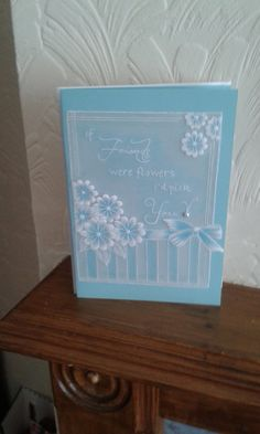 Handmade Card Parchment Craft by Craftsbylindyloo on Etsy