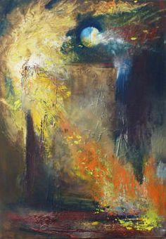 """Saatchi Art Artist GEORGE KARAFOTIAS; Painting, """"Autumn is here"""" #art"""