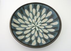 Harrison McIntosh (b. 1914), American. Handthrown Stoneware Bowl.