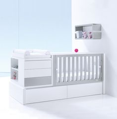 ALONDRA Convertible Crib Premium Kurve