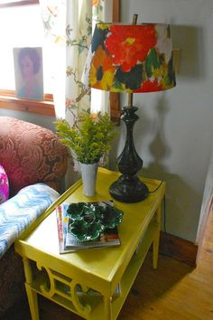 The Polka Dot Petticoat Granny Chic Decor, Bold Colors, Nest, Polka Dots, Table Lamp, Apartments, Furniture, Home Decor, Style