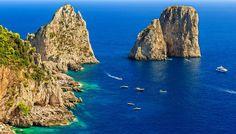"""Faraglioni di Capri: """"Solo duerocce"""""""