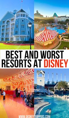 20 best and worst disney world resorts ranked | best and worst resorts at disney world | best hotels at disney | best disney world hotel | where to stay at disney | tips for accomodations at disney | disney planning tips | disney travel tips #disneyresort #disneyhotels #disneytips Best Disney World Resorts, Disney Value Resorts, Disney Resort Hotels, Disney World Vacation Planning, Disney World Parks, Disney Planning, Best Resorts, Disney Vacations, Disney Trips