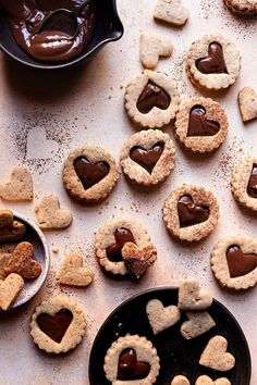 Delicious crispy and melt in your mouth Hazelnut Shortbread Cookies, made with toasted hazelnuts and only 4 ingredients. #cookies #shortbreadcookies #hazelnutcookies #hazelnutshortbreadcookies #nutella #nutelcookies #dessert #hazelnutrecipe #easycookies #foodprocessorcookies| Cinnamon Cookies, Yummy Cookies, Sugar Cookies, Best Cookie Recipes, Sweet Recipes, Baking Recipes, Brownie Recipes, Homemade Desserts, Easy Desserts