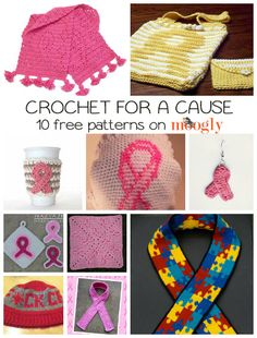 Crochet for a Cause ~ free patterns
