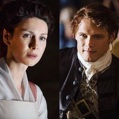 #CaitrionaBalfe & #SamHeughan as Jamie & Claire in #Outlander Episode 2.03! #jamiefraser #clairefraser