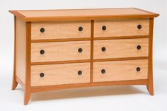 Mahogany and Anigre Bedroom Suite - CT Fine Furniture by Craig ...