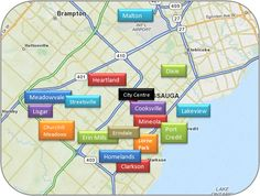 Mississauga Real Estate Village in the City Heartland, Churchill, Greater Toronto Area, Visit Canada, Ontario, The Neighbourhood, Places To Go, Knowledge, Real Estate