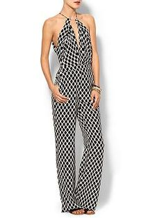 DvF Ireland Silk Jumpsuit | Piperlime. Wish I could pull this off!