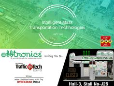 #Efftronics cordially inviting you to attend the #TrafficInfraTech and #ParkingInfraTech #Expo, 2017.  #MassTransportationSolutions #LatestTechnologies #SmartMobility